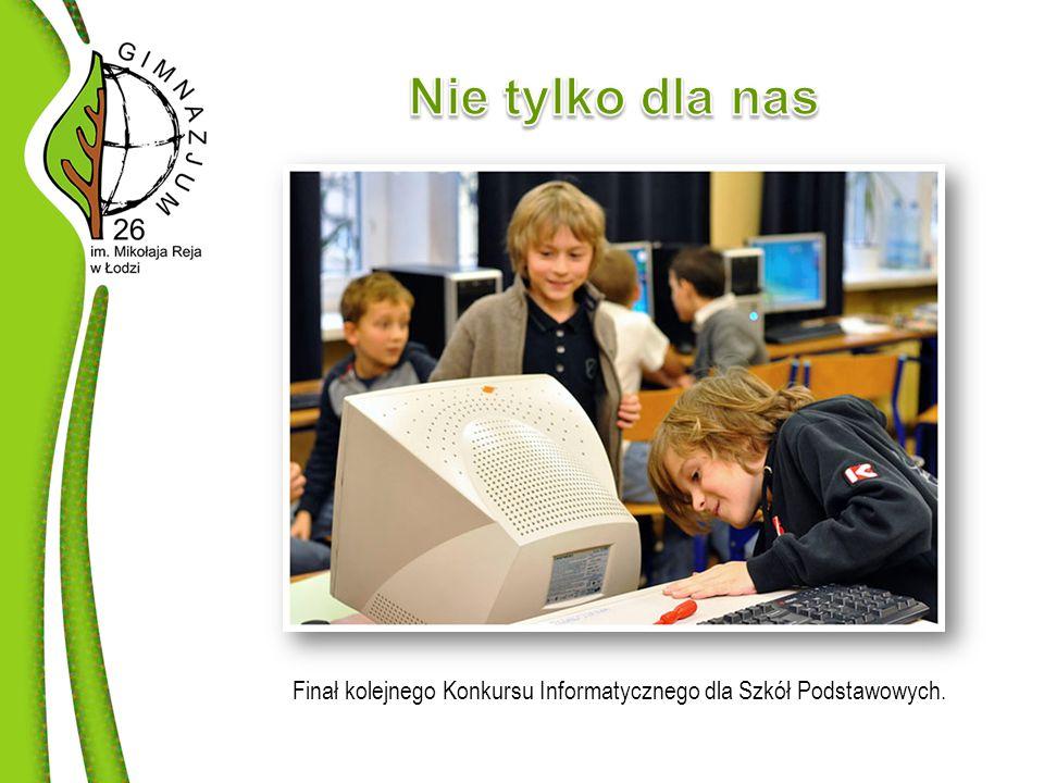 Finał kolejnego Konkursu Informatycznego dla Szkół Podstawowych.