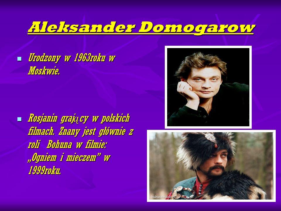 Aleksander Domogarow Urodzony w 1963roku w Moskwie.