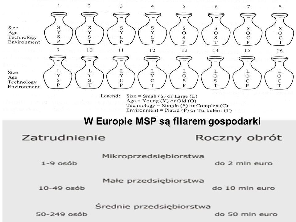 W Europie MSP są filarem gospodarki