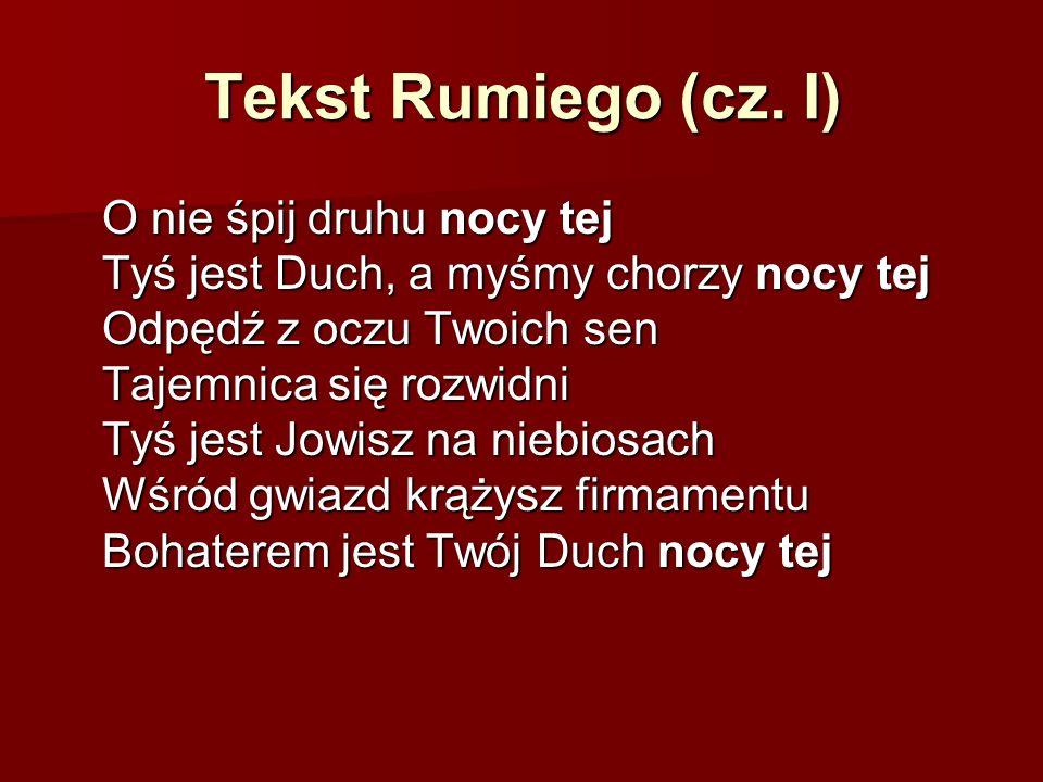 Tekst Rumiego (cz.