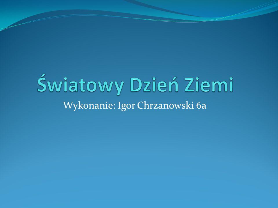 Wykonanie: Igor Chrzanowski 6a