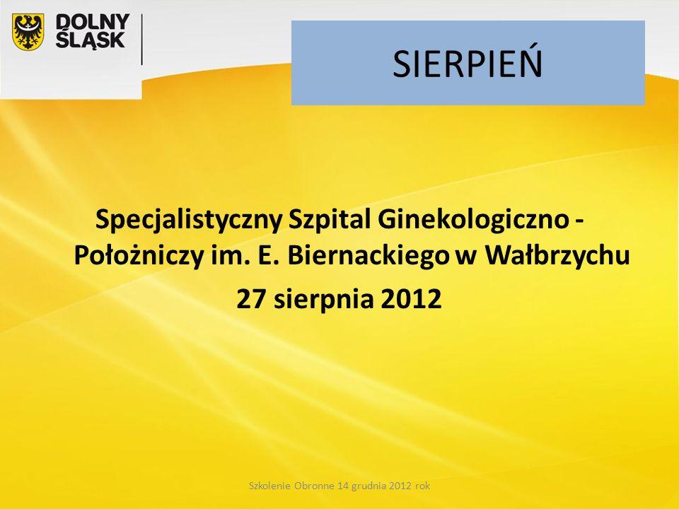 SIERPIEŃ Specjalistyczny Szpital Ginekologiczno - Położniczy im.