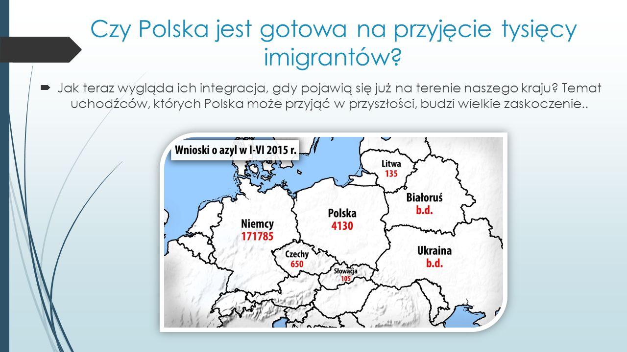 Czy Polska jest gotowa na przyjęcie tysięcy imigrantów.