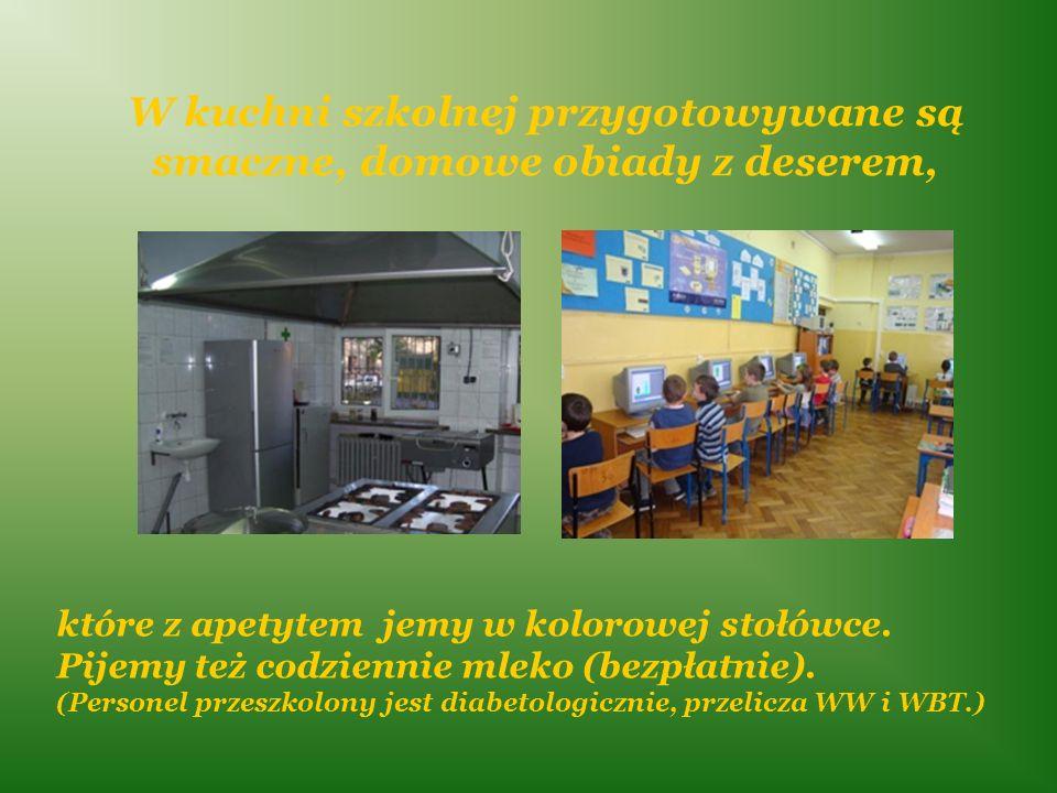 Uczniowie klas I – III korzystają także … …z 3 sal świetlicy szkolnej czynnej w godzinach 7.00-8.00 i 10.45 – 17.00