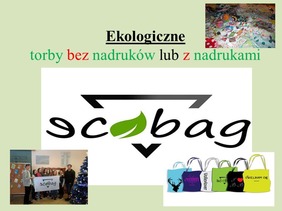 Ekologiczne torby bez nadruków lub z nadrukami