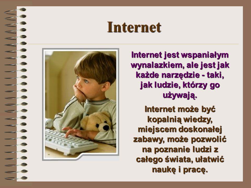 Bezpieczeństwo dziecka w sieci Hanna Śniatała