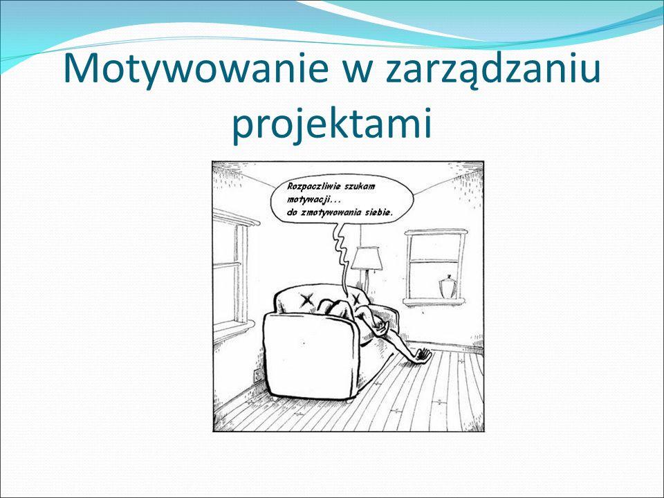 Motywowanie w zarządzaniu projektami