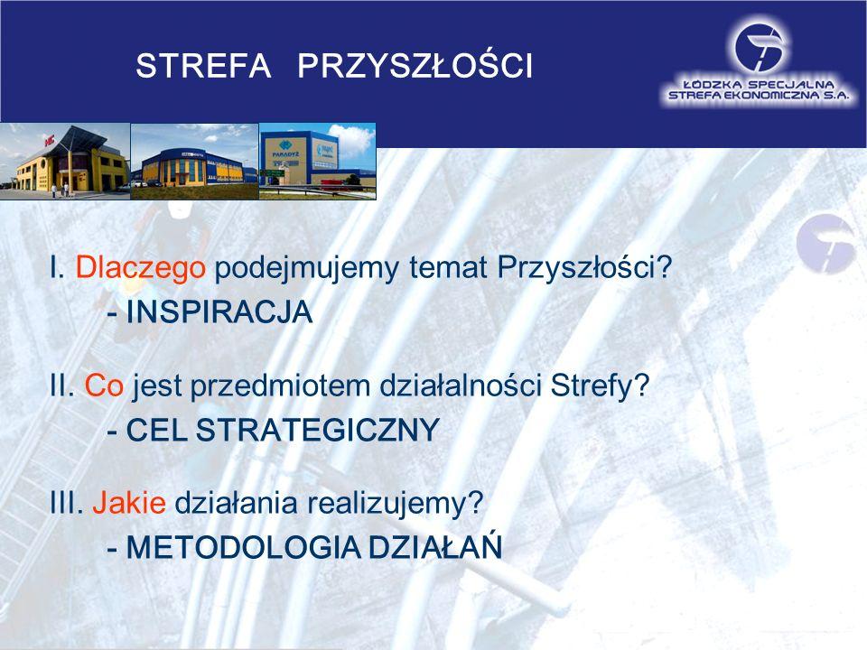 STREFA PRZYSZŁOŚCI IV.Rola Strefy w regionie - STYMULOWANIE V.