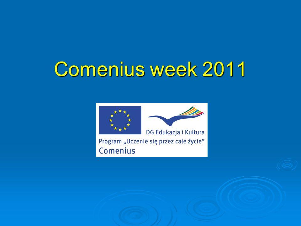 COMENIUS WEEK 07–10.11.