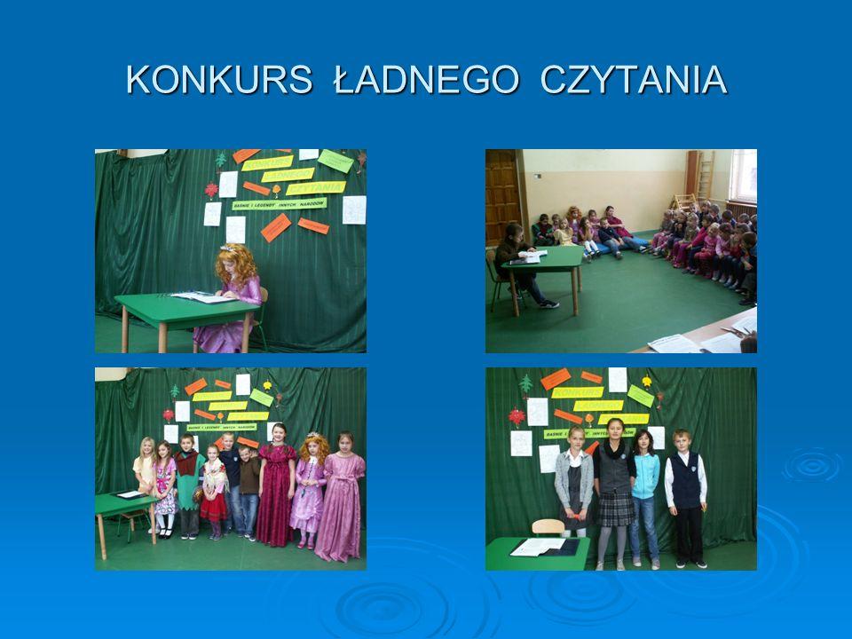 KONKURS ŁADNEGO CZYTANIA