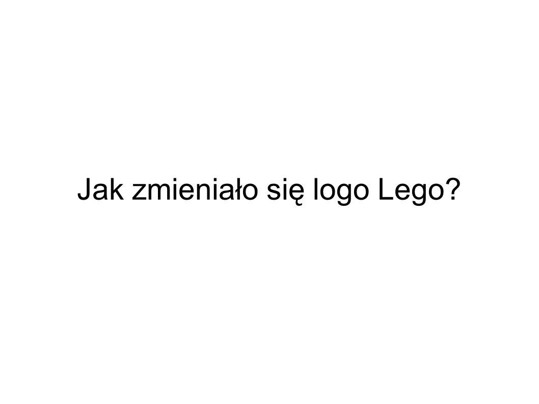 Jak zmieniało się logo Lego