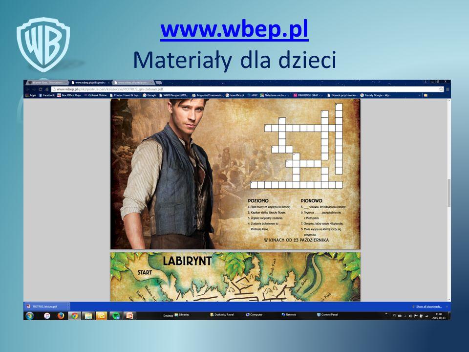 www.wbep.pl www.wbep.pl Materiały dla dzieci