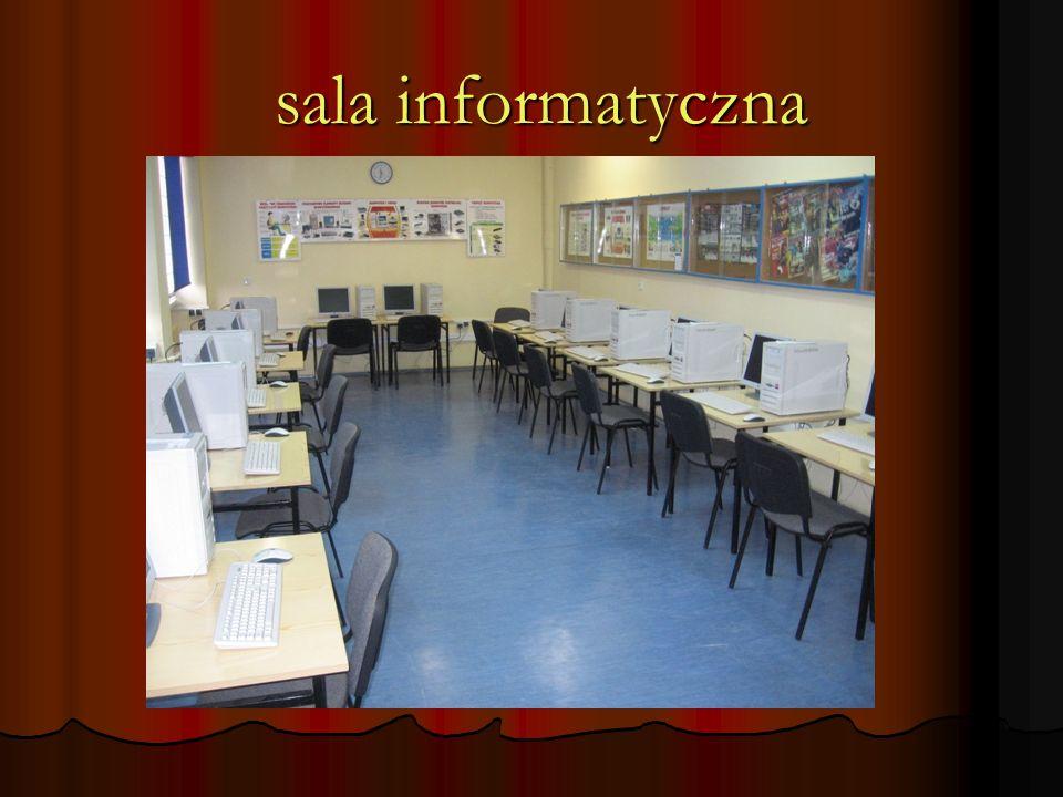 sala informatyczna sala informatyczna
