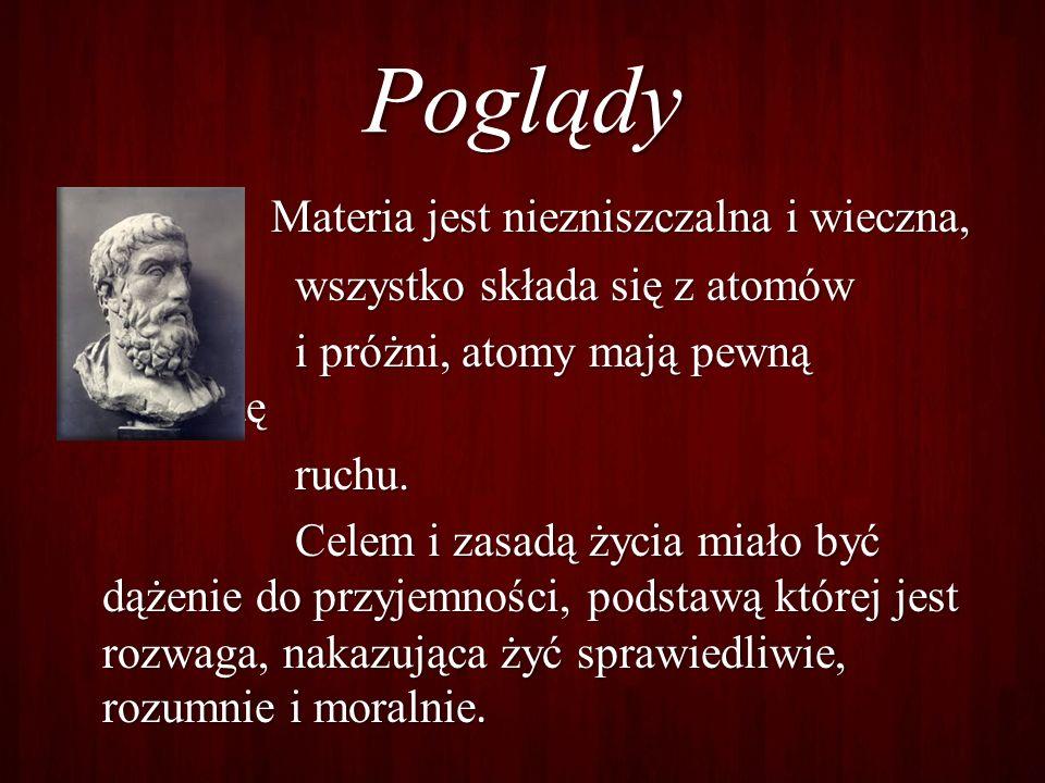 Epikur twierdzi ł, ż e bogowie istniej ą, ale nie maj ą zdolno ś ci do ingerencji w sprawy tego ś wiata.