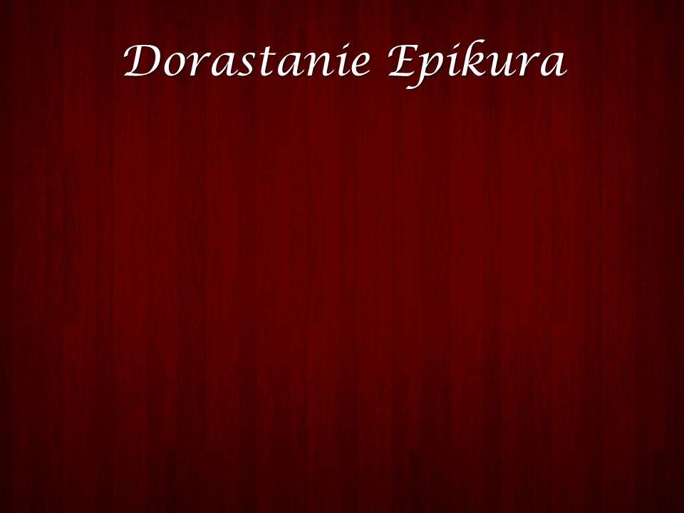 Dorastanie Epikura Epikur urodził się na wyspie Samos w dość zamożnej rodzinie kolonistów pochodzących z Aten.