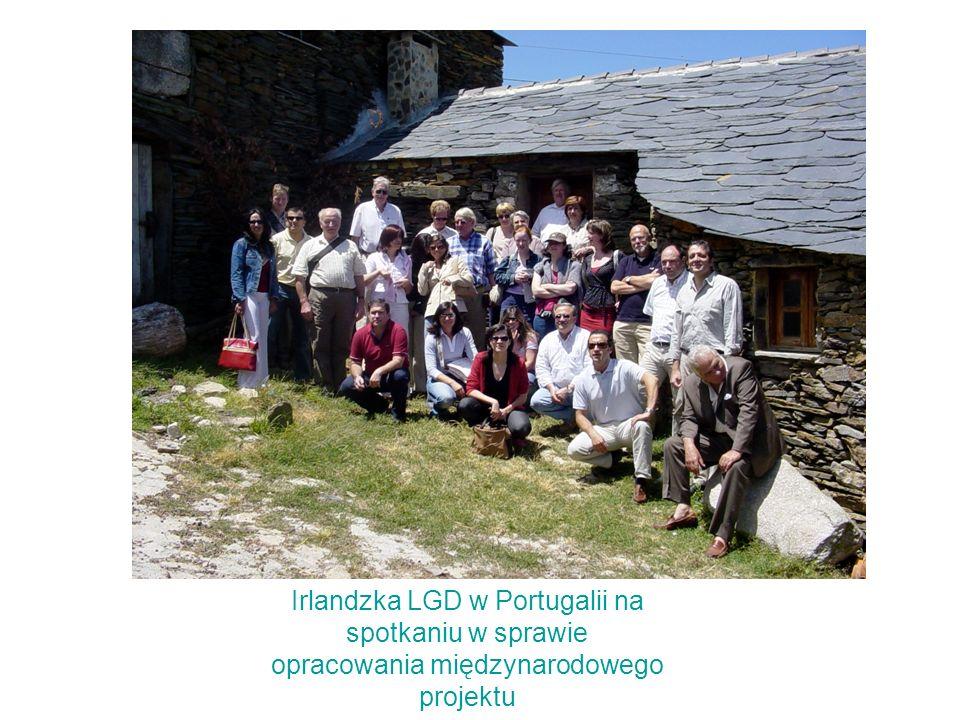 Irlandzka LGD w Portugalii na spotkaniu w sprawie opracowania międzynarodowego projektu