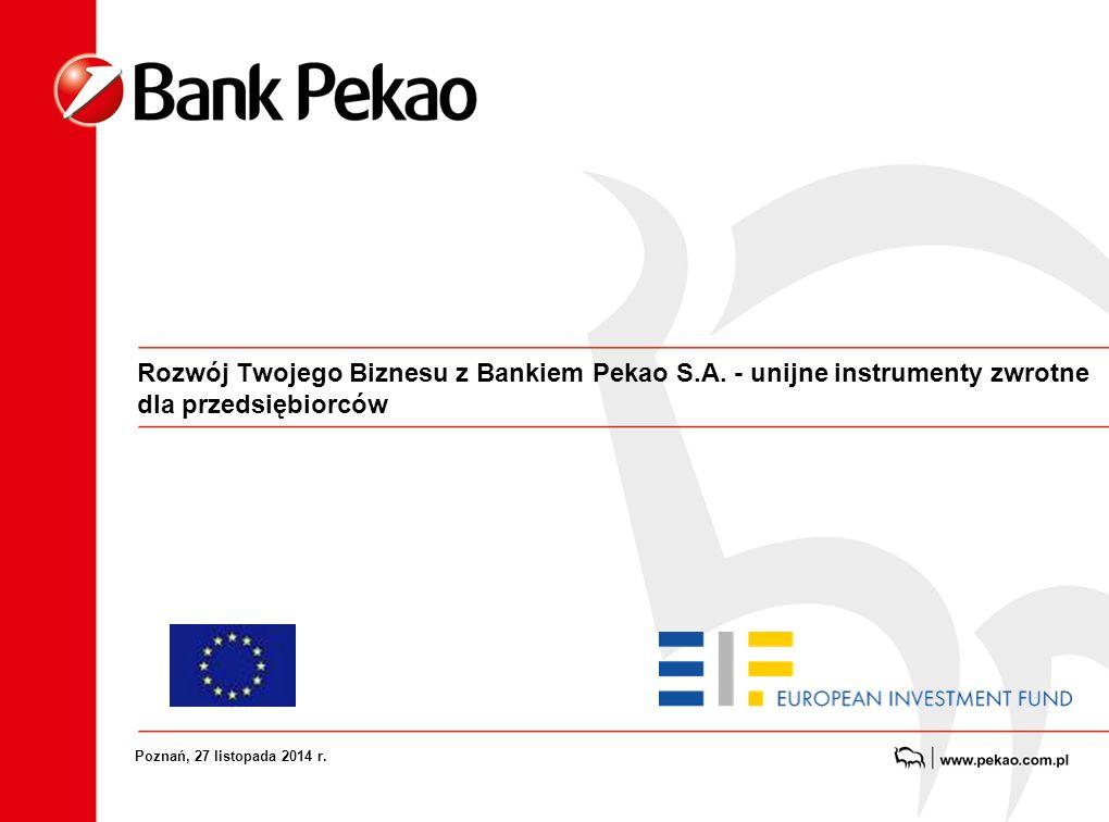 Rozwój Twojego Biznesu z Bankiem Pekao S.A.