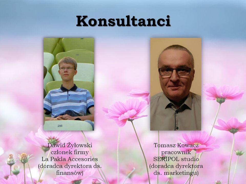 Konsultanci Dawid Żyłowski członek firmy La Pakla Accesories (doradca dyrektora ds.
