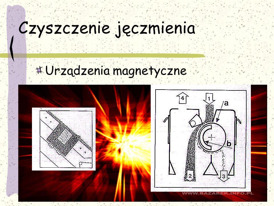 Czyszczenie jęczmienia Urządzenia magnetyczne