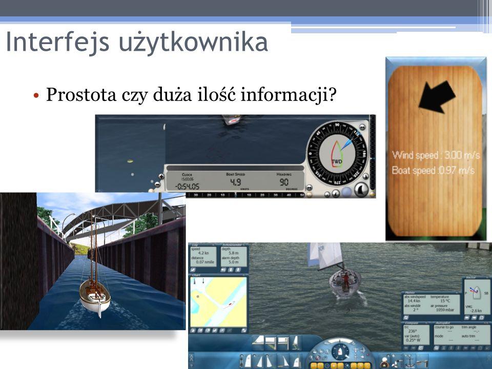 Interfejs użytkownika Prostota czy duża ilość informacji