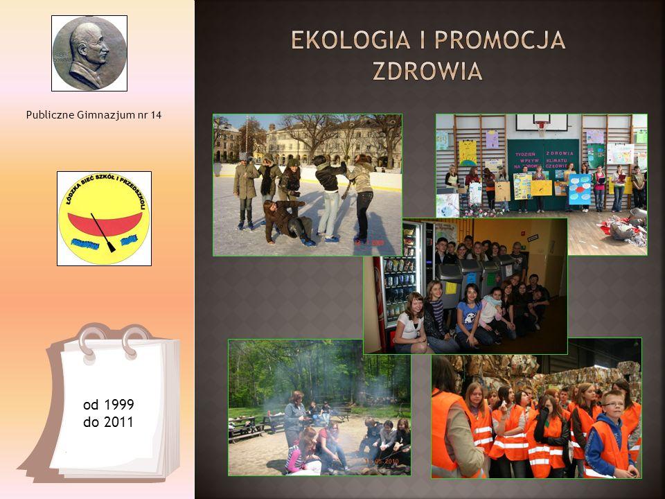 Publiczne Gimnazjum nr 14 od 1999 do 2011