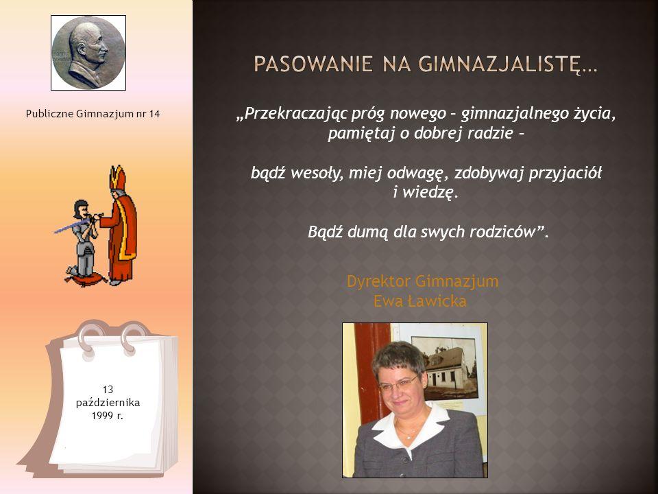 Cztery Edycje Mini Targów Edukacyjnych Publiczne Gimnazjum nr 14 od 1999 do 2011