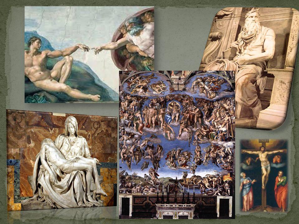 Michał Anioł został zaproszony do Rzymu przez papieża Juliusza II w 1505r.