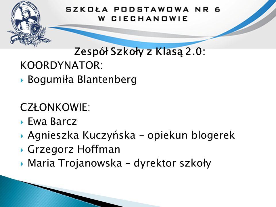 ZADANIA ZREALIZOWANE W PROGRAMIE  ZADANIE DYREKTORA: Nasi e-nauczyciele  ZADANIA KOORDYNTORA: Planowanie pracy Debata szkolna Festiwal 2.o