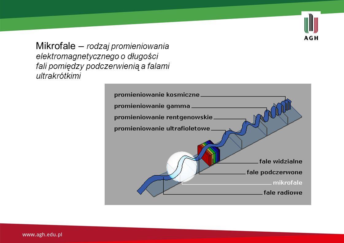 Mikrofale – rodzaj promieniowania elektromagnetycznego o długości fali pomiędzy podczerwienią a falami ultrakrótkimi