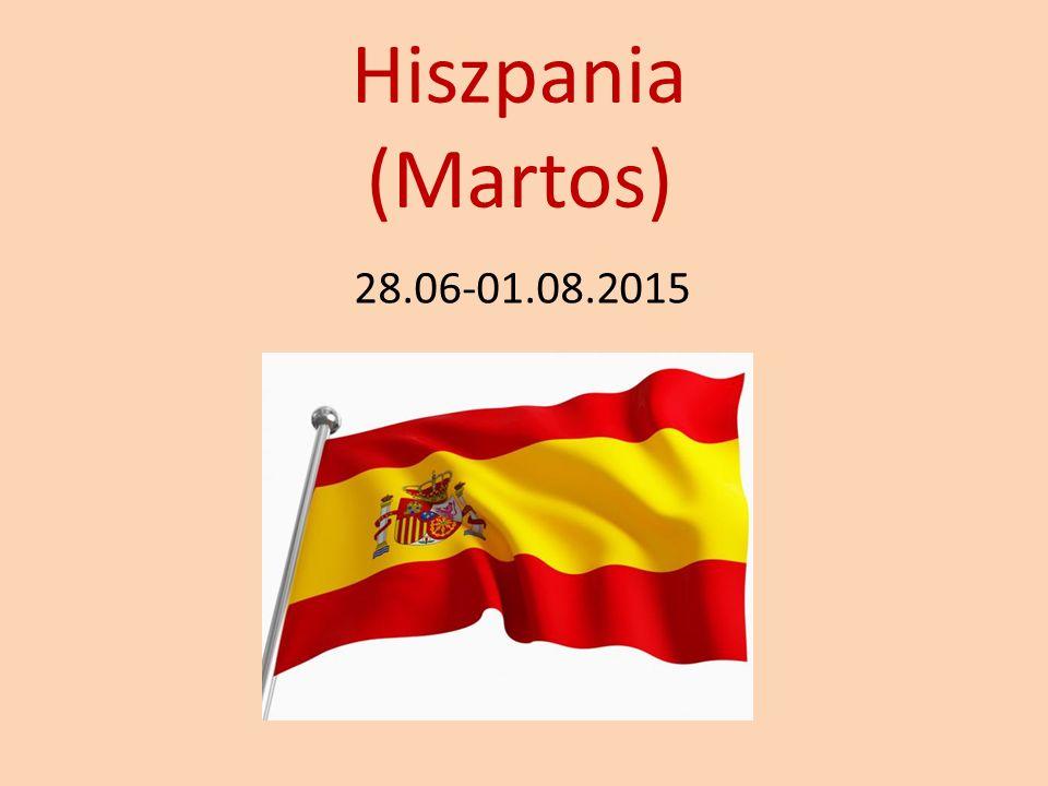 Hiszpania (Martos) 28.06-01.08.2015