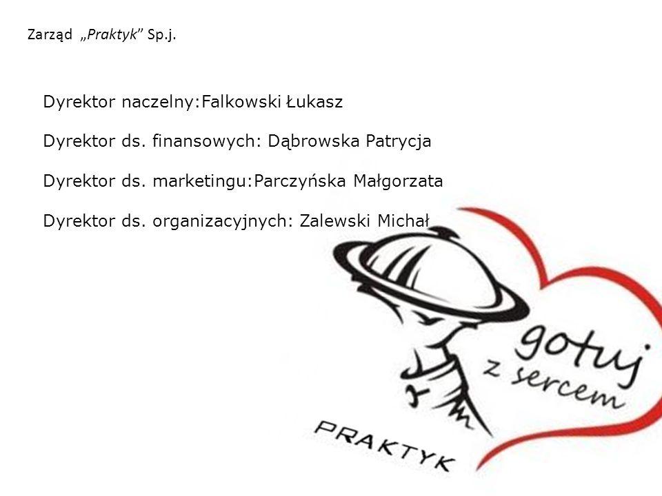 """Zarząd """"Praktyk Sp.j.Dyrektor naczelny:Falkowski Łukasz Dyrektor ds."""