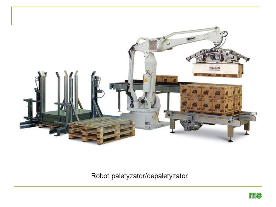 Robot paletyzator/depaletyzator