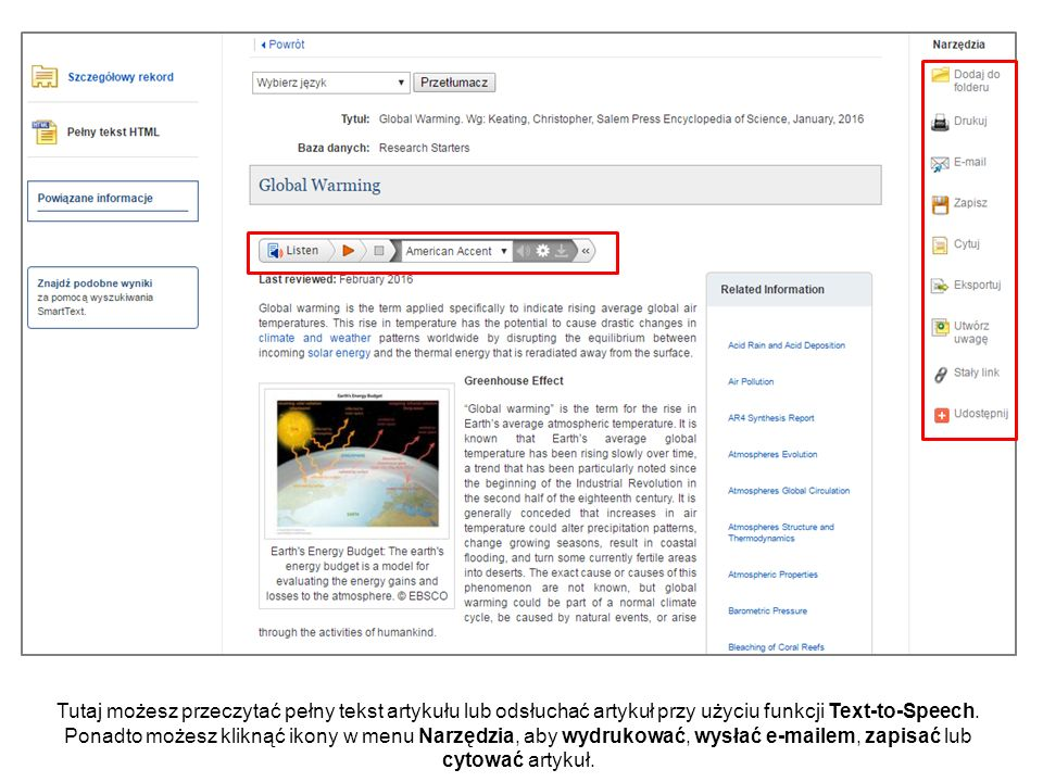 """Wiele wyszukiwań obejmuje """"Inne tematy wyświetlone poniżej plakardu Starteru badań."""
