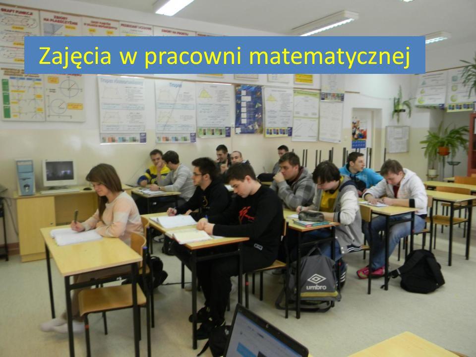 Zajęcia w pracowni matematycznej