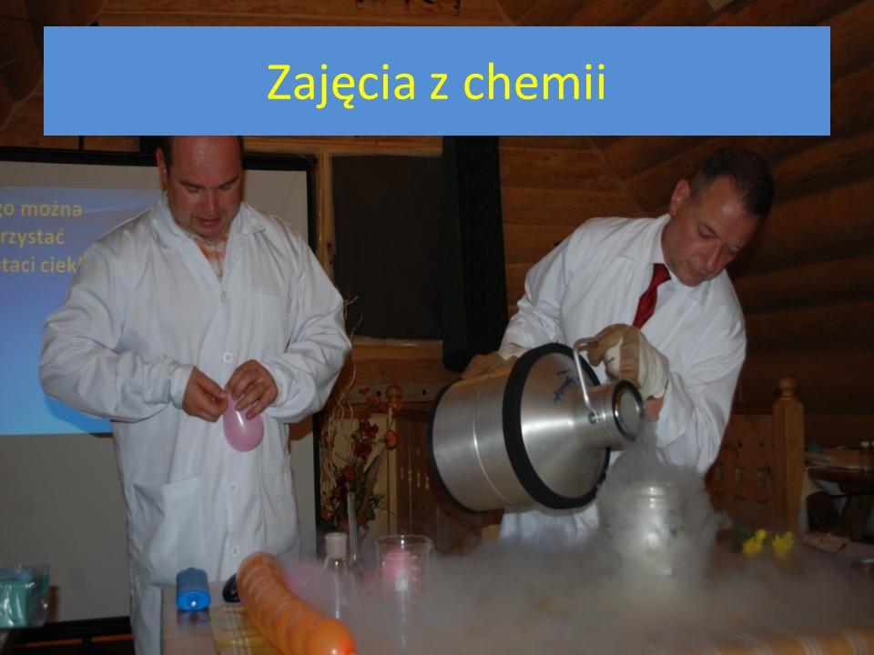 Zajęcia z chemii