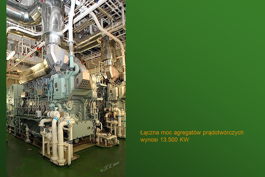 Wał napędowy ma 48 metrów długości i średnicę 1,2 metra