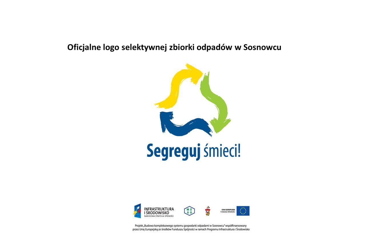Oficjalne logo selektywnej zbiorki odpadów w Sosnowcu