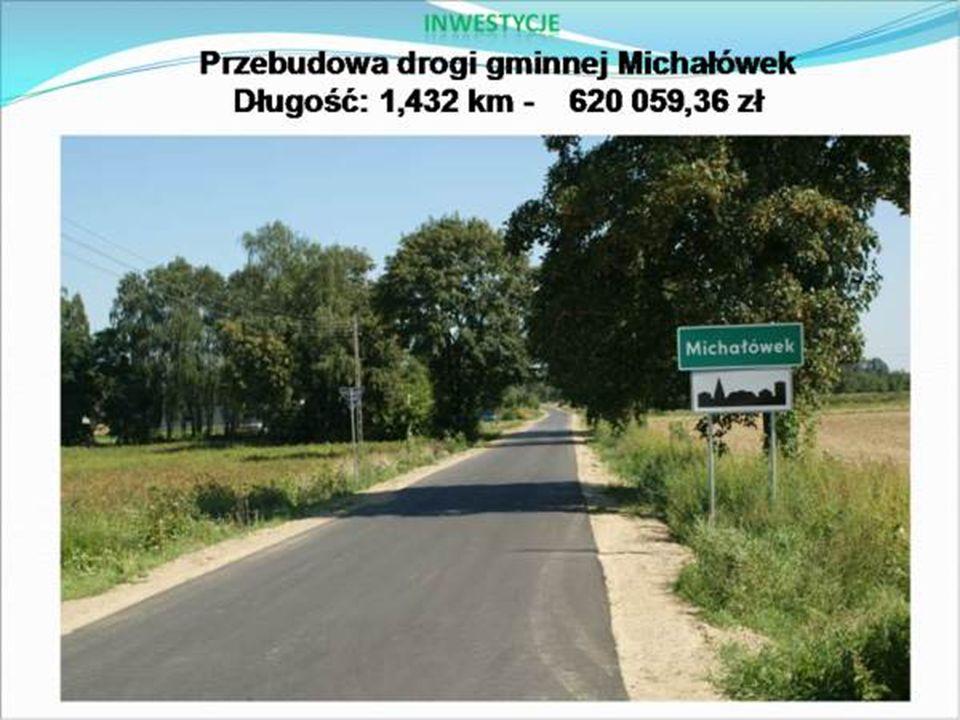  W dniu 24.11.2009r.została oddana do użytku inwestycja we wsi Kamienica.