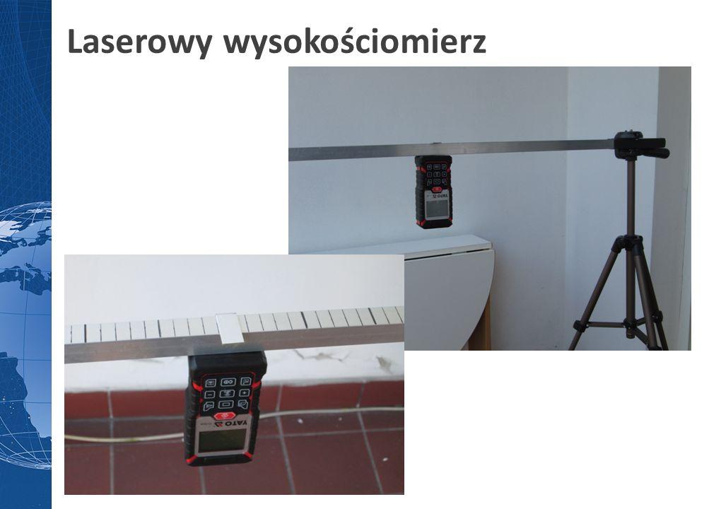 Laserowy wysokościomierz