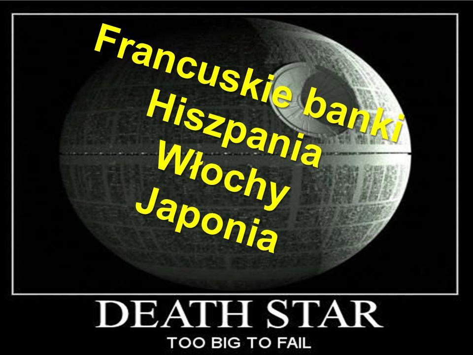 12 Francuskie banki HiszpaniaWłochyJaponia