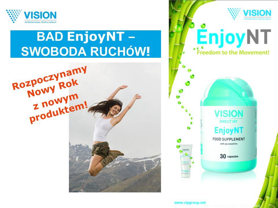 BAD EnjoyNT – SWOBODA RUCH Ó W ! Rozpoczynamy Nowy Rok z nowym produktem!