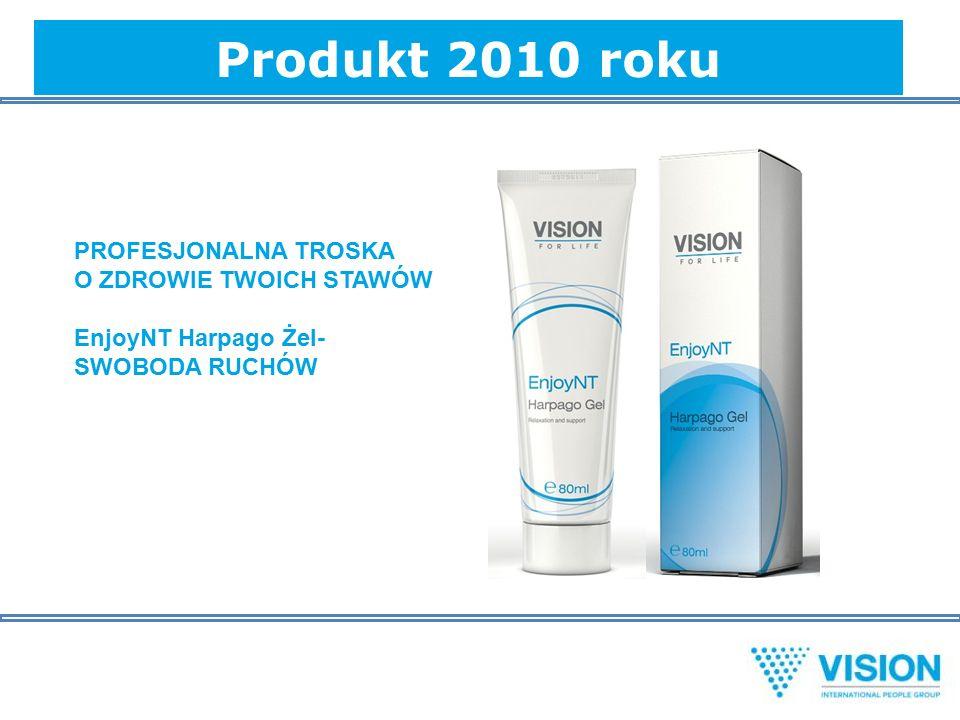 Produkt 2010 roku PROFESJONALNA TROSKA O ZDROWIE TWOICH STAWÓW EnjoyNT Harpago Żel- SWOBODA RUCHÓW