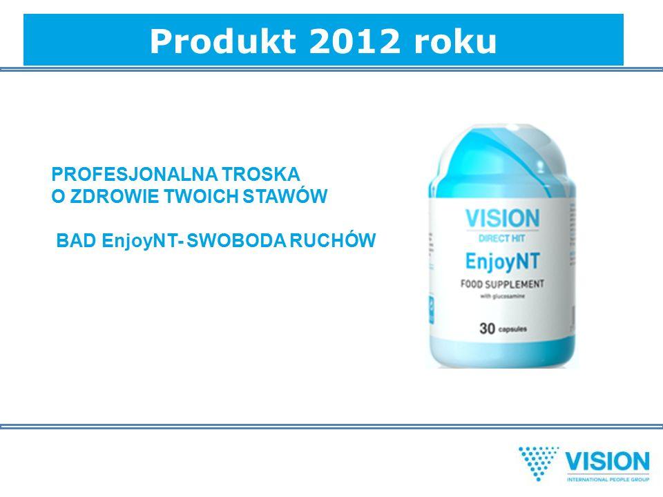 Produkt 2012 roku PROFESJONALNA TROSKA O ZDROWIE TWOICH STAWÓW BAD EnjoyNT- SWOBODA RUCHÓW