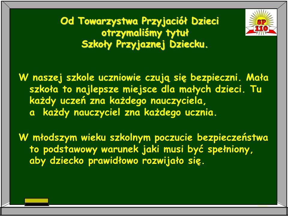 OSIĄGNIĘCIA SZKOŁY:  Ocena efektów pracy szkoły dokonana przez Kuratorium Oświaty w Łodzi wykazała: Na poziomie najwyższym - uczniowie nabywają wiadomości i umiejętności.