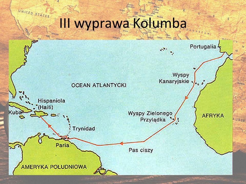 III wyprawa Kolumba