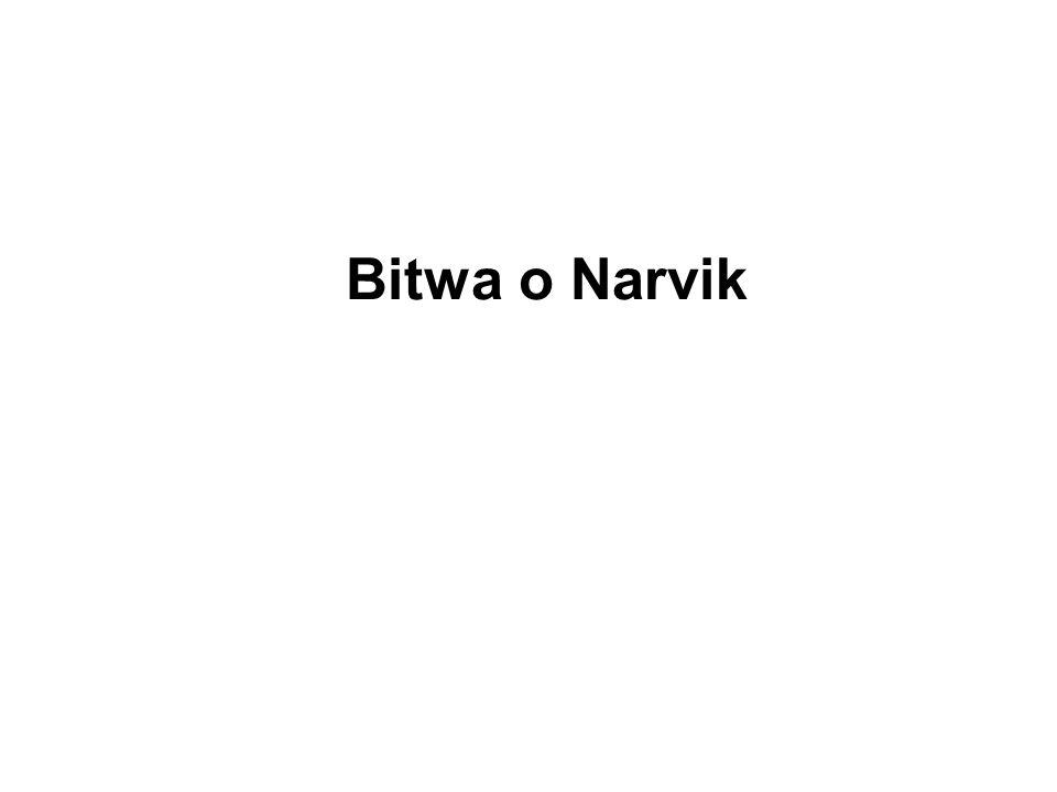 Bitwa o Narvik