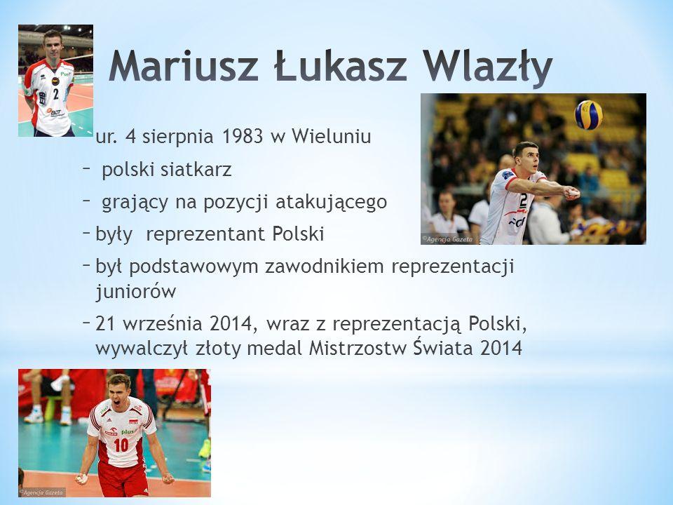 – ur. 4 sierpnia 1983 w Wieluniu – polski siatkarz – grający na pozycji atakującego – były reprezentant Polski – był podstawowym zawodnikiem reprezent