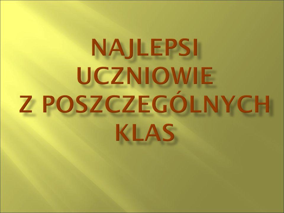  Daniel Brzozowski  Marek Karczewski  Damian Karluk  Wiktor Kasprzak  Karol Kiszczak  Michał Korzeniowski  Martyna Mazurkiewicz  Michalina Mazurkiewicz  Zuzanna Smyl