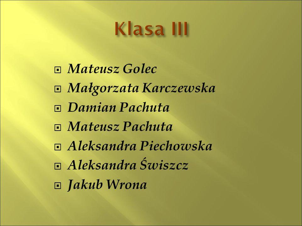  Łukasz Salitra5,17  Julia Karluk5,00  Wiktoria Smyl4,92  Bartosz Karluk4,92  Martyna Błaziak4,67  Eliza Wrona 4,42  Martyna Zalewa4,18  Dominika Król4,17