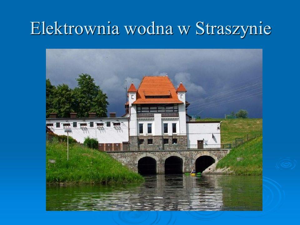 Elektrownia wodna w Straszynie
